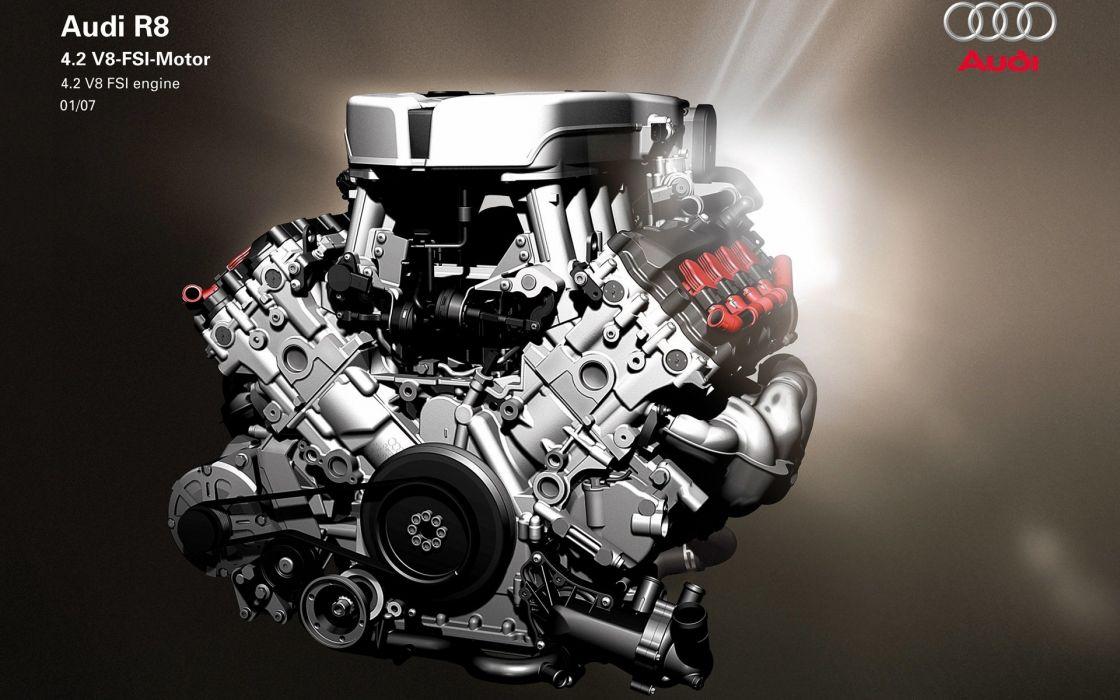 Audi R8 Engine wallpaper