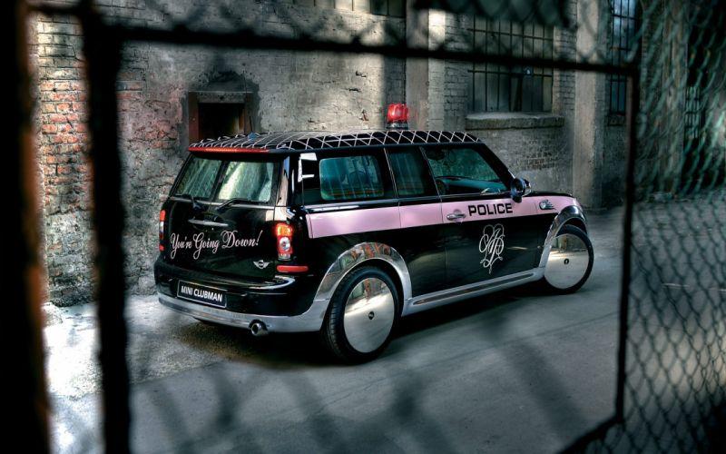 Mini Clubman Police wallpaper