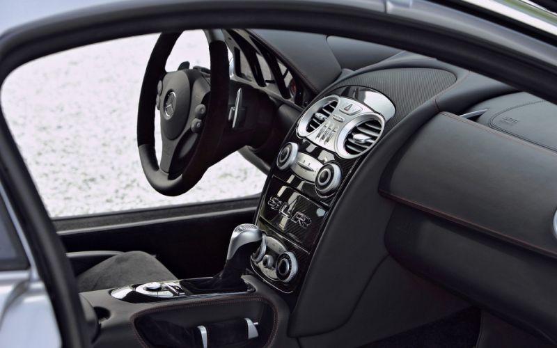 Mercedes Benz SLR Interior wallpaper