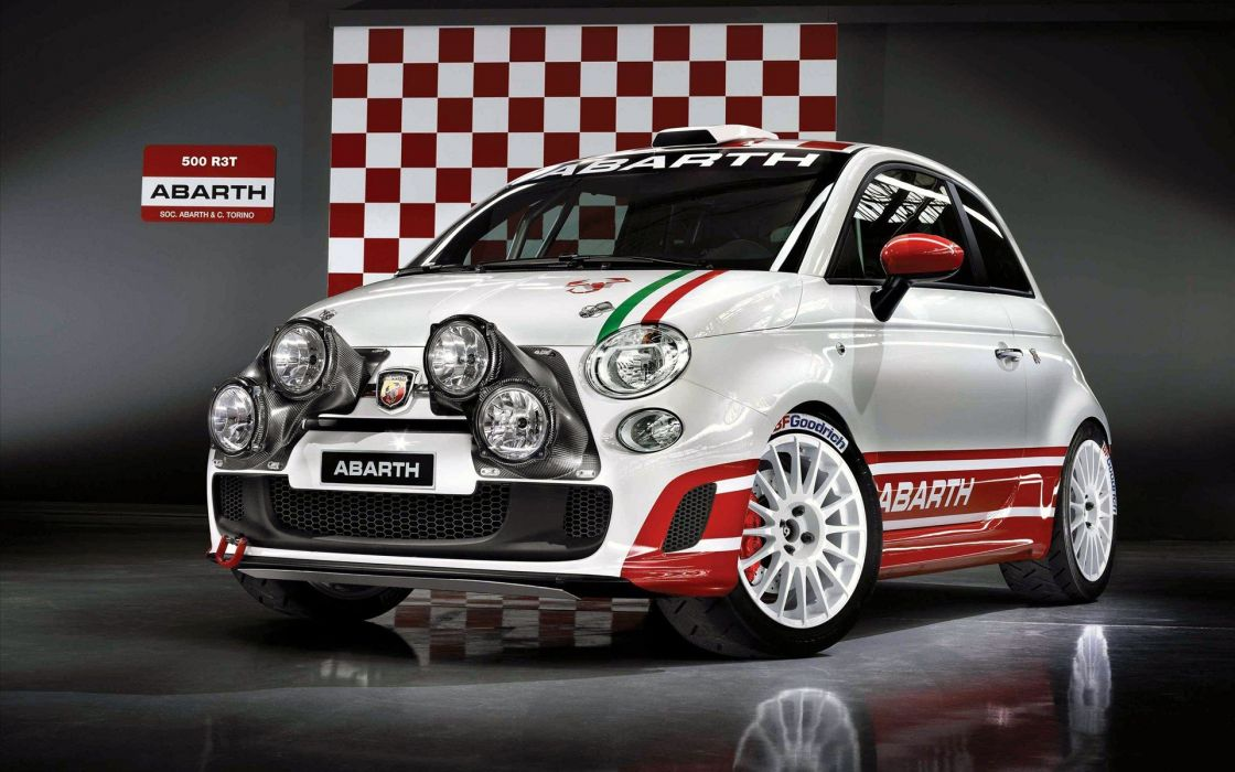 Fiat 500 Abarth wallpaper