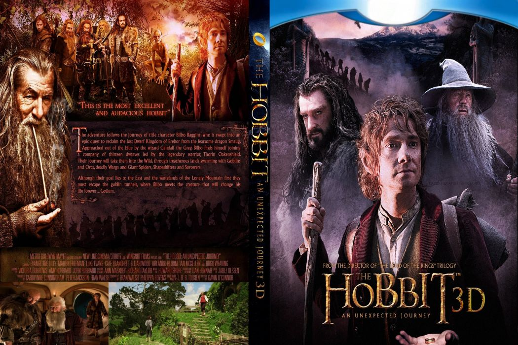 HOBBIT UNEXPECTED JOURNEY lotr adventure fantasy wallpaper