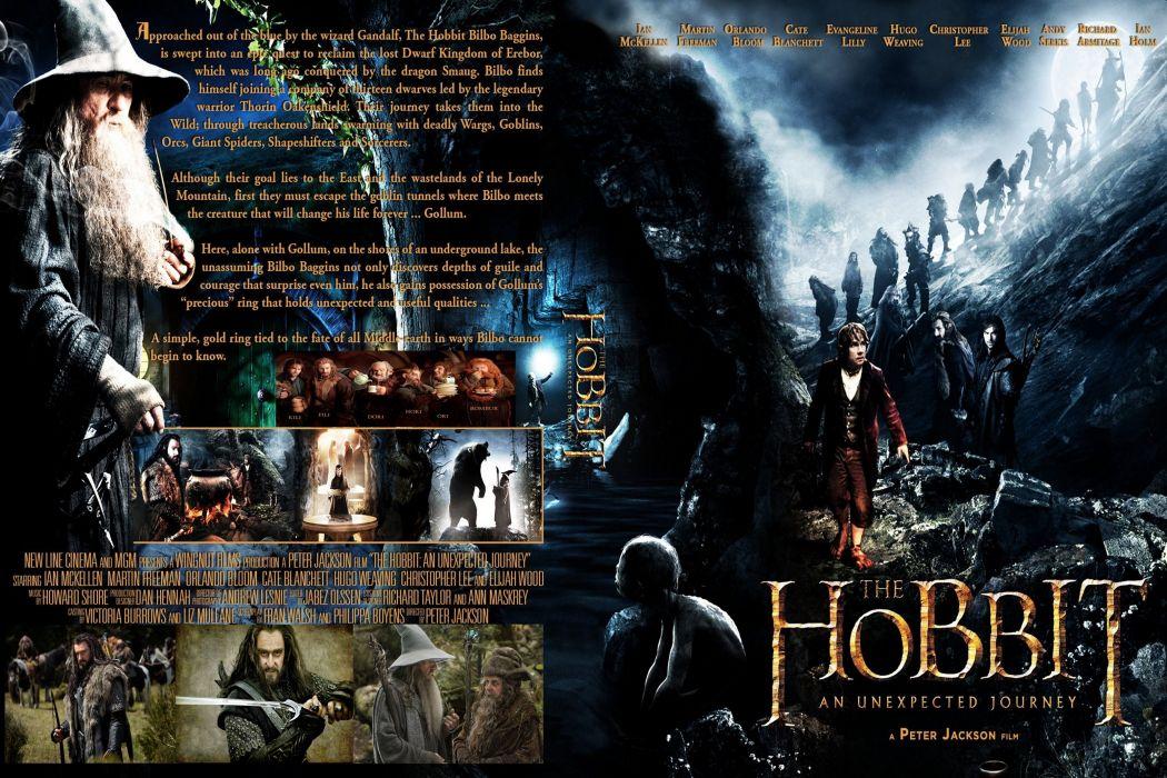 HOBBIT UNEXPECTED JOURNEY lotr adventure fantasy lord rings wallpaper