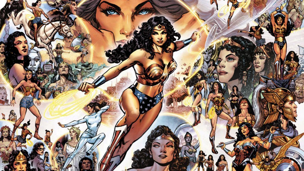 Sensational Wonder Woman wallpaper