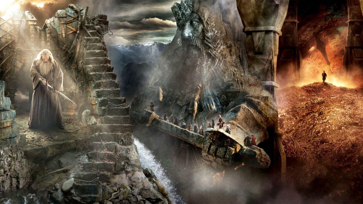 Hobbit Desolation Smaug Lotr Lord Rings Adventure Fantasy