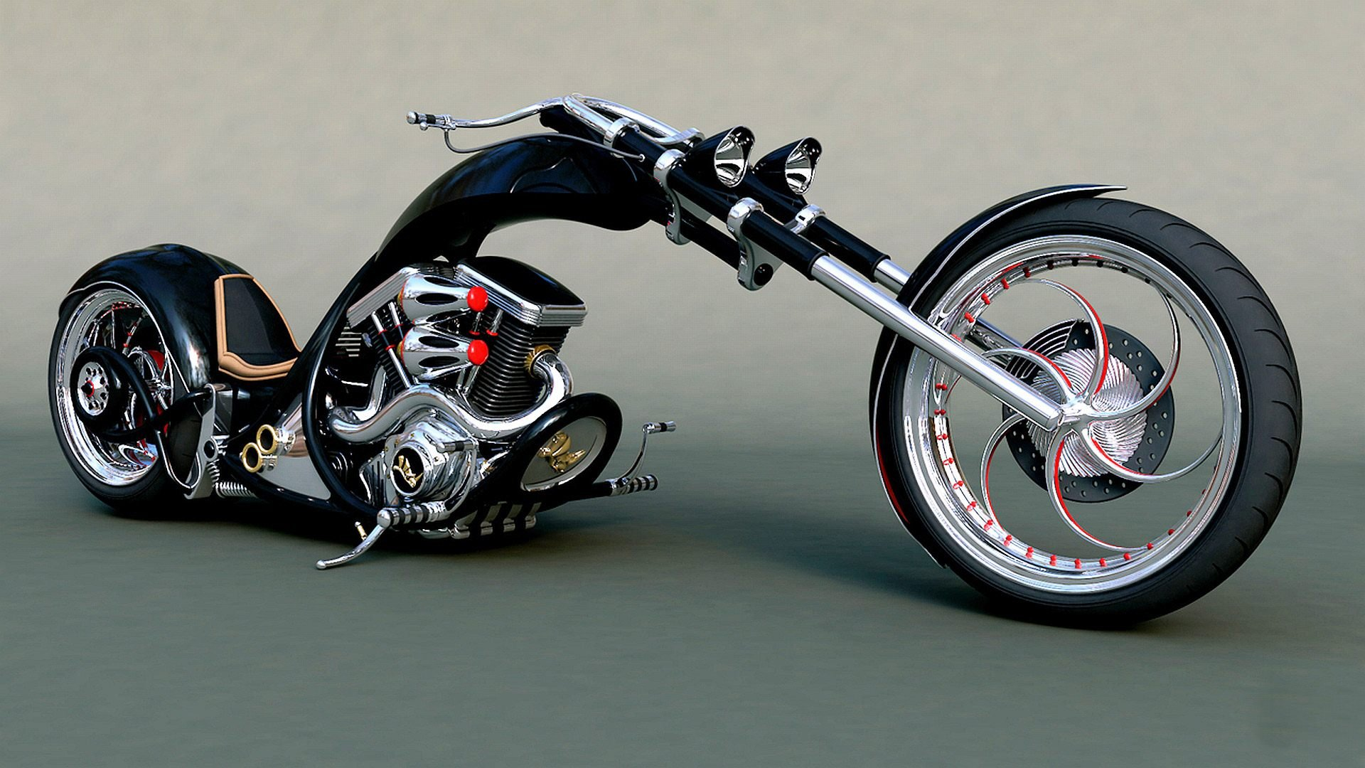 Chopper Bike Tuning Motorbike Motorcycle Hot Rod Rods Custom Wallpaper