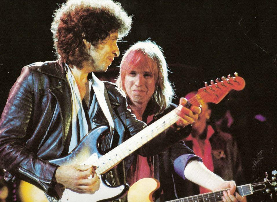 TOM PETTY HEARTBREAKERS Rock Heartland Blues Hard Tom Petty Bob Dylan Wallpaper