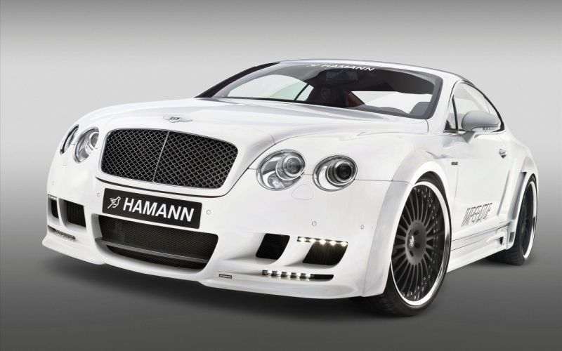 Bently Continental GT by Hamann wallpaper