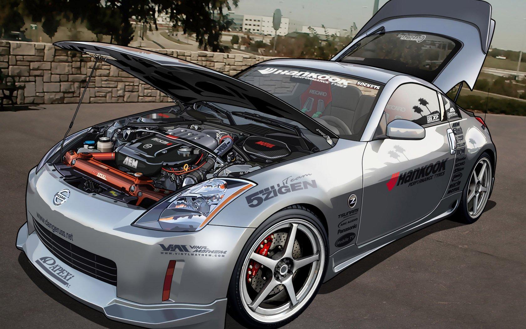 Nissan Z350 Tunning Wallpaper 1680x1050 419342 Wallpaperup