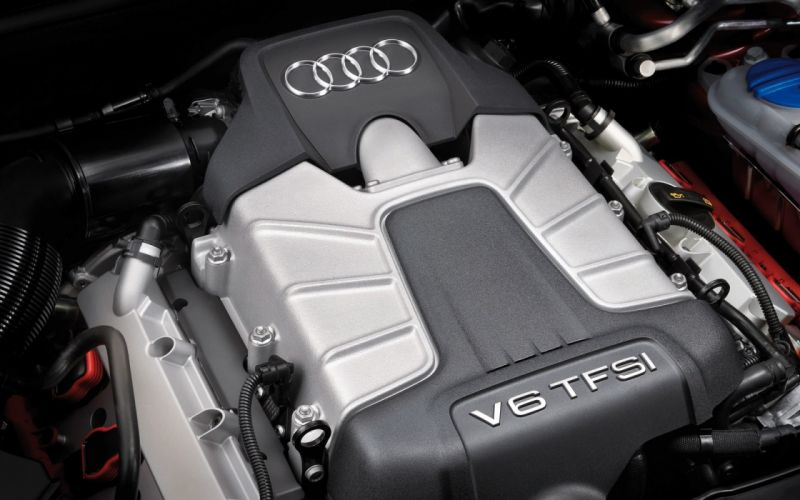 Audi V6 TFSI Engine wallpaper