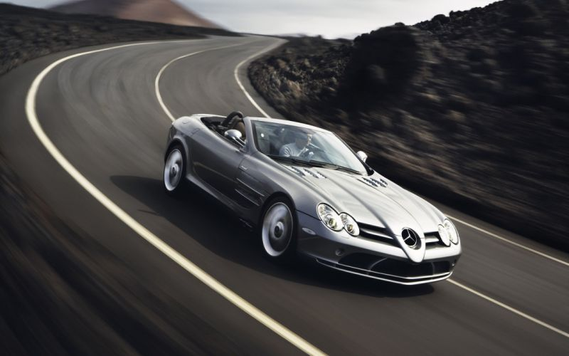 Mercedes Benz SLR wallpaper