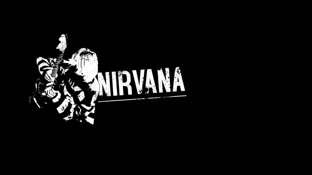 NIRVANA alternative grunge hard rock wallpaper