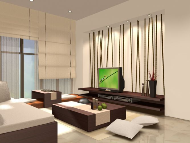 INTERIOR DESIGN furniture room wallpaper
