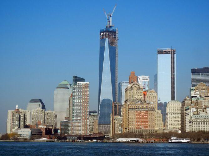 WTC WORLD TRADE CENTER skyscraper city cities building new york wallpaper
