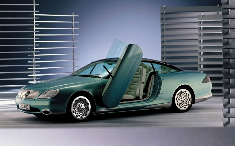 Mercedes Benz SCL 600 wallpaper