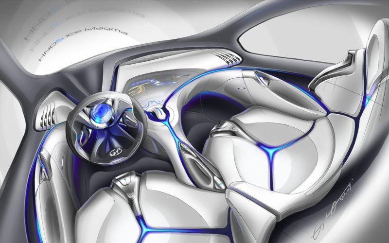 Hyundai Concept Interior wallpaper