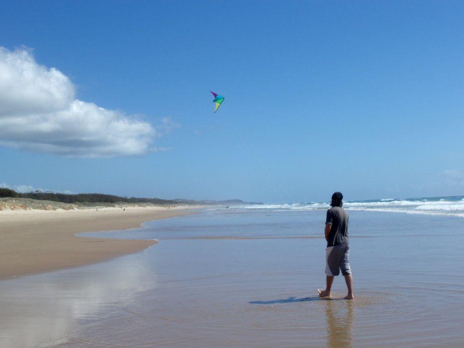 kite flying bokeh flight fly summer hobby sport sky toy fun wallpaper