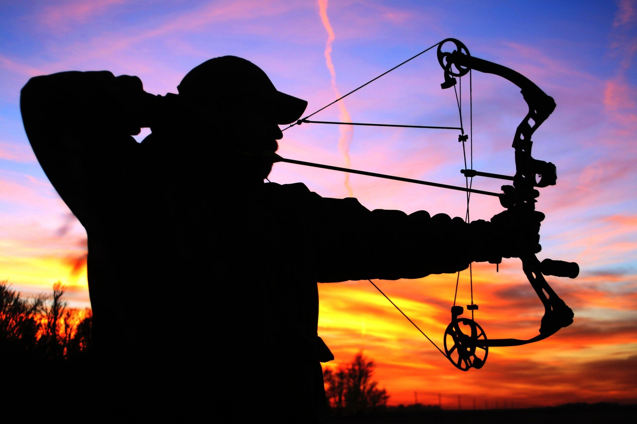 Bow Hunting Archery Archer Bow Arrow Hunting Weapon HD Wallpapers Download Free Images Wallpaper [1000image.com]