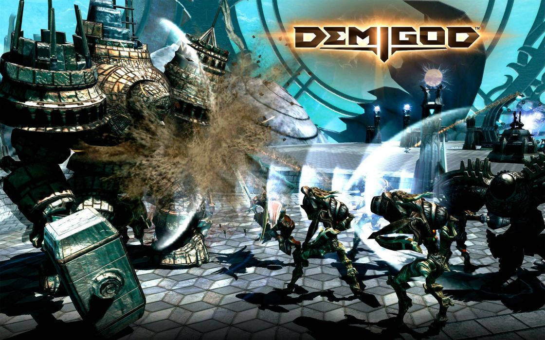 DEMIGOD tactical strategy online fighting fantasy (5) wallpaper