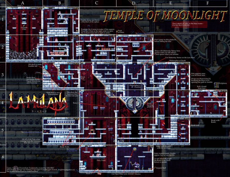 LA-MULANA scrolling platform action adventure mulana fantasy (4) wallpaper