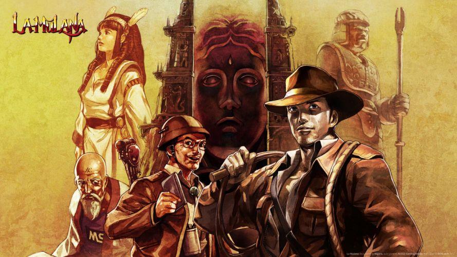 LA-MULANA scrolling platform action adventure mulana fantasy (9) wallpaper