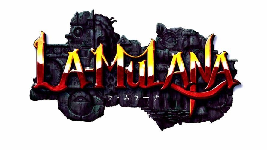 LA-MULANA scrolling platform action adventure mulana fantasy (10) wallpaper