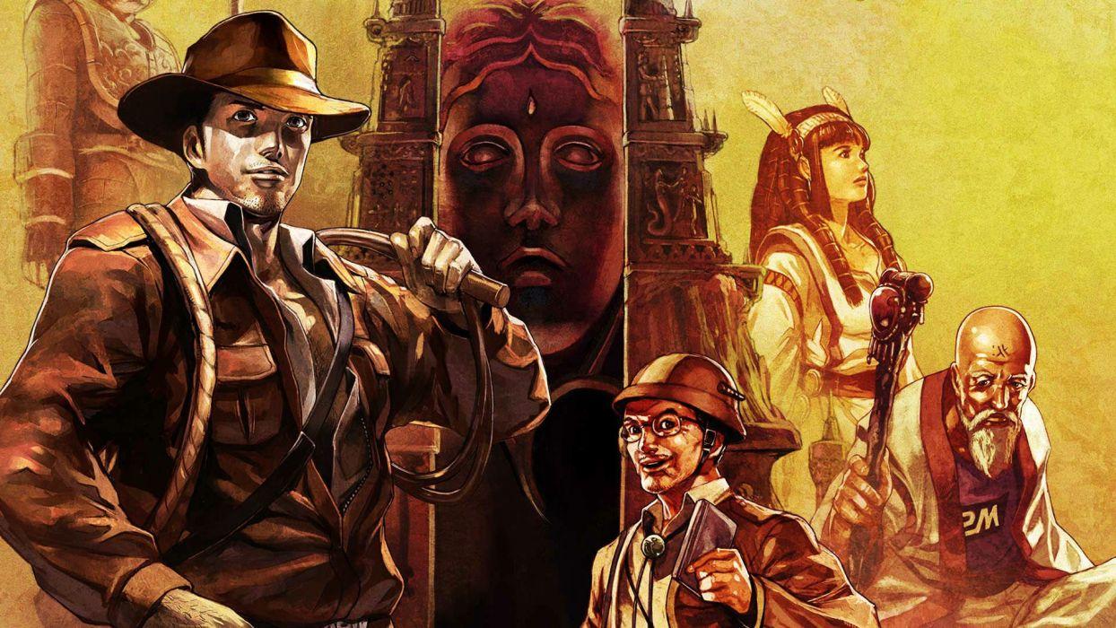 LA-MULANA scrolling platform action adventure mulana fantasy (11) wallpaper