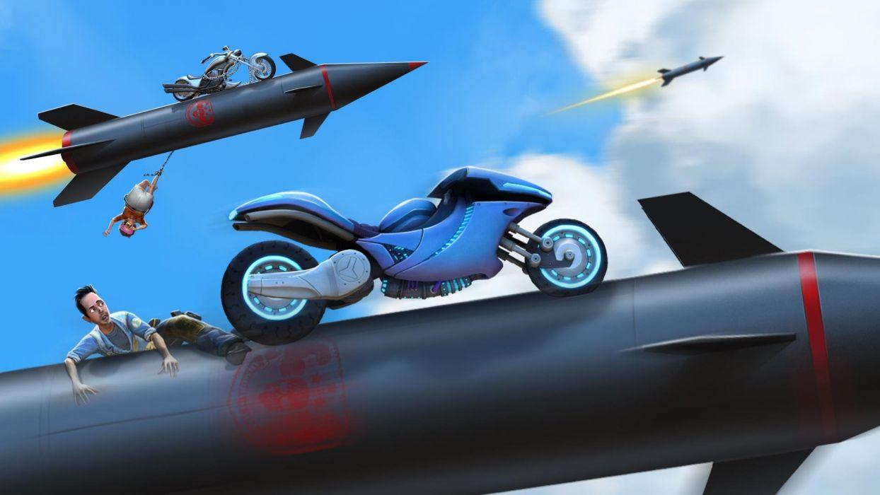 LOCOCYCLE motorcycle racing race fighting bike motorbike (8) wallpaper