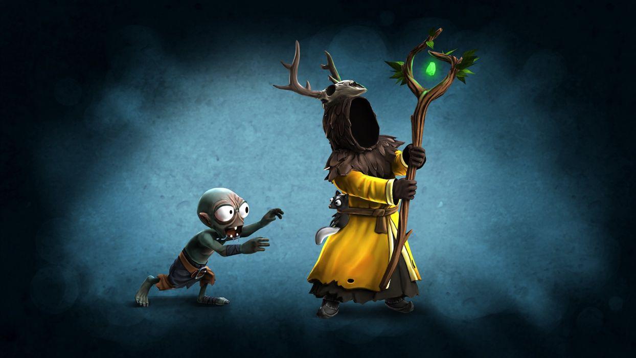 MAGICKA action adventure fantasy magic (11) wallpaper