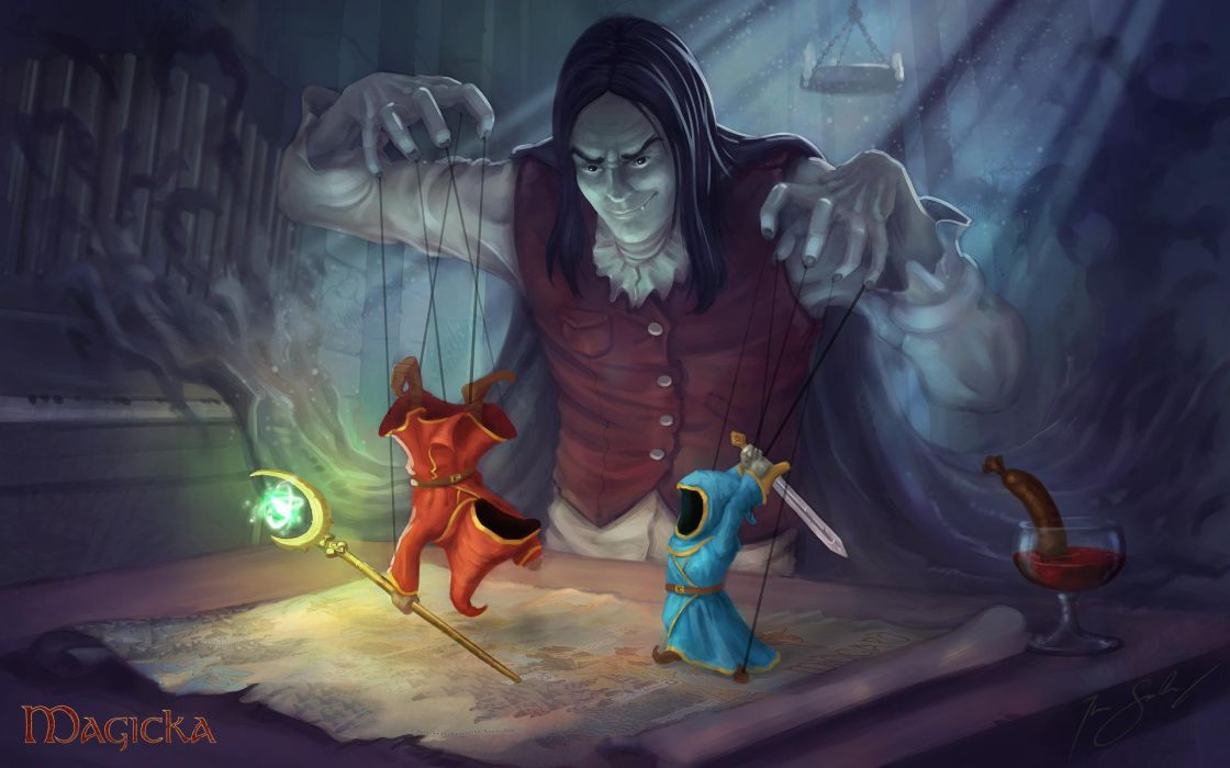 MAGICKA action adventure fantasy magic (59) wallpaper