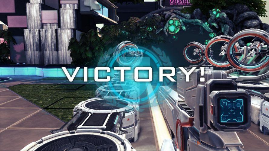 SANCTUM card game sci-fi online shooter rpg h (10) wallpaper