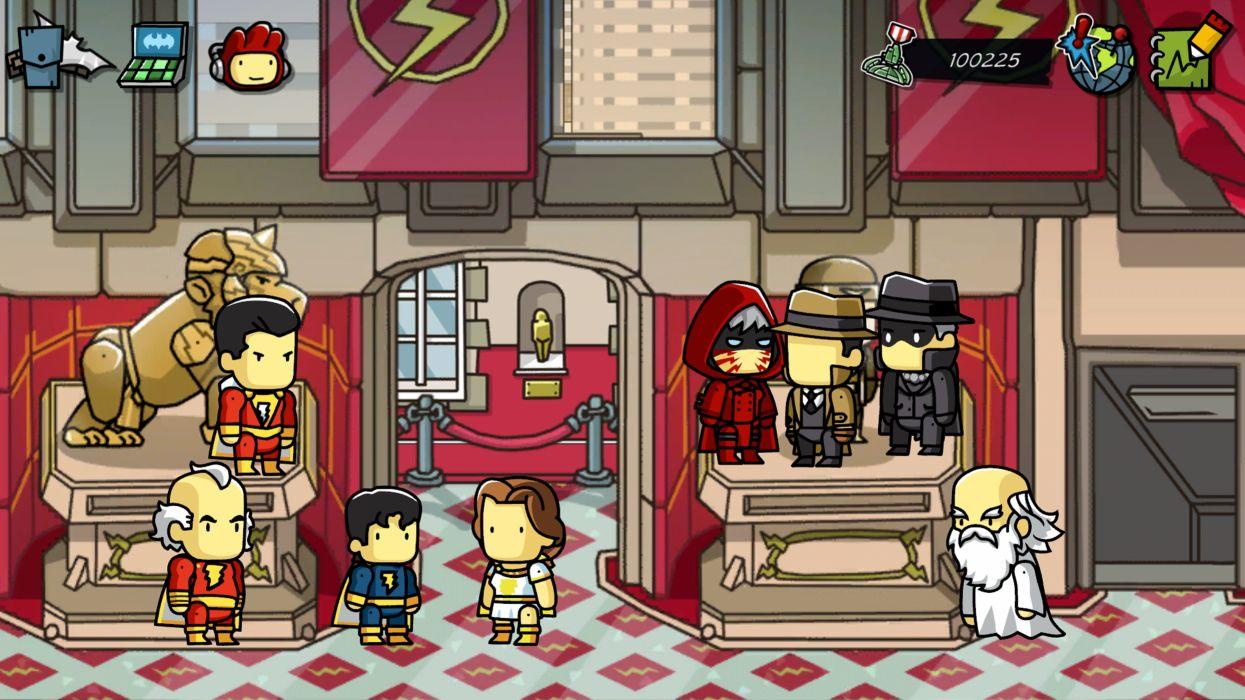 SCRIBBLENAUTS puzzle action family scrolling superhero (11) wallpaper