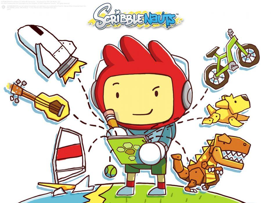 SCRIBBLENAUTS puzzle action family scrolling superhero (15) wallpaper