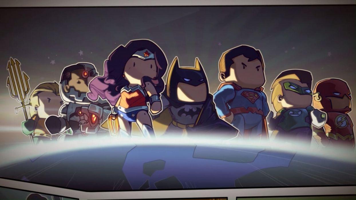 SCRIBBLENAUTS puzzle action family scrolling superhero (20) wallpaper