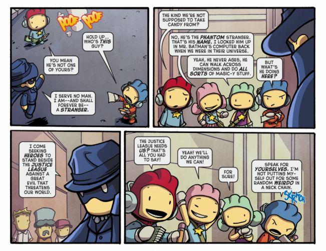 SCRIBBLENAUTS puzzle action family scrolling superhero (21) wallpaper