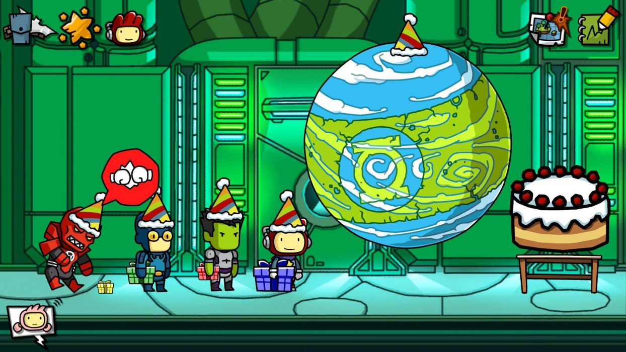 SCRIBBLENAUTS puzzle action family scrolling superhero (42) wallpaper