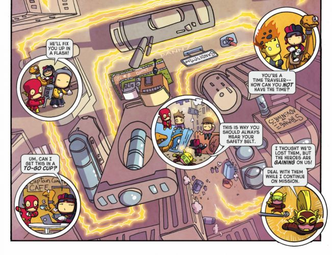 SCRIBBLENAUTS puzzle action family scrolling superhero (50) wallpaper