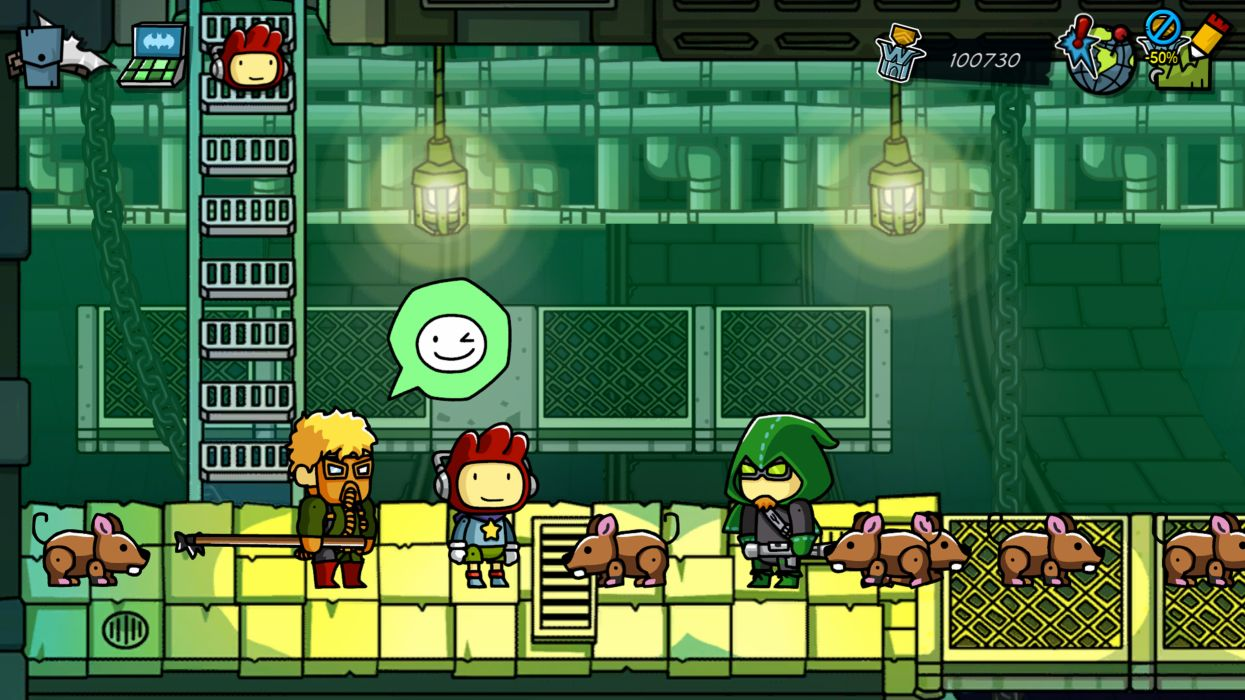 SCRIBBLENAUTS puzzle action family scrolling superhero (44) wallpaper