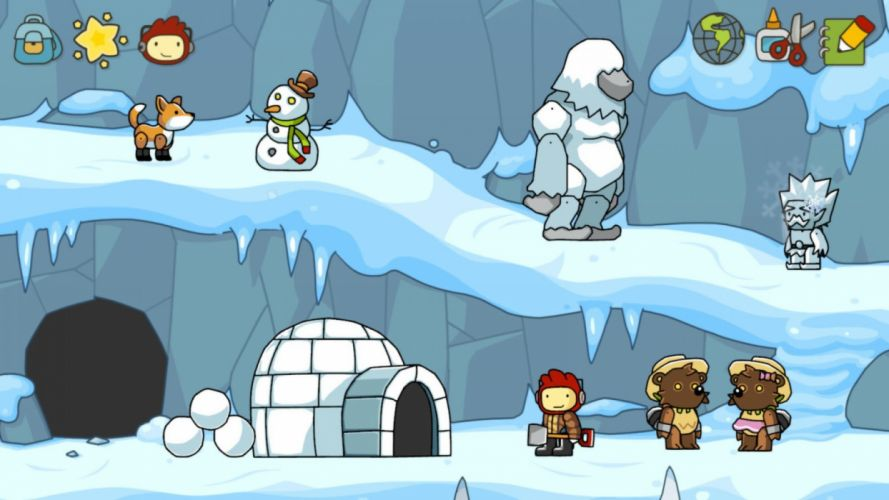 SCRIBBLENAUTS puzzle action family scrolling superhero (55) wallpaper