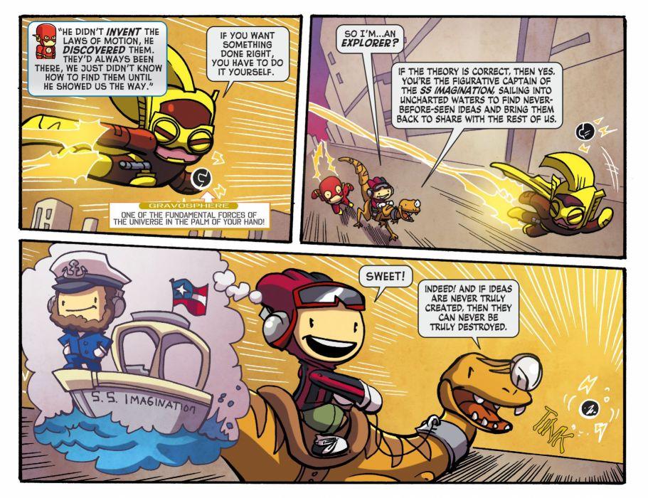 SCRIBBLENAUTS puzzle action family scrolling superhero (52) wallpaper