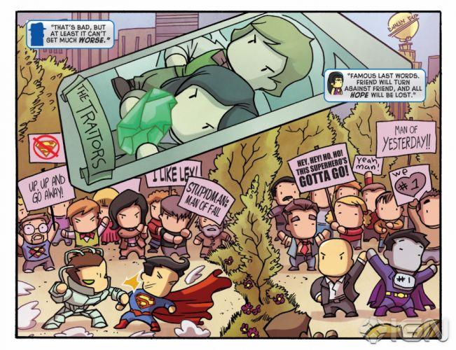 SCRIBBLENAUTS puzzle action family scrolling superhero (54) wallpaper