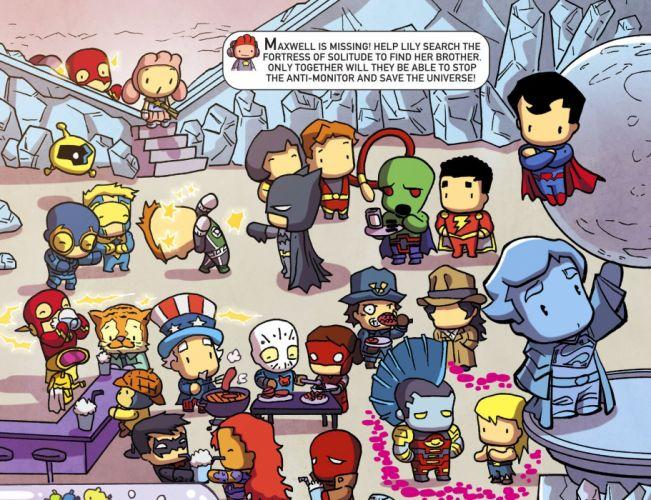 SCRIBBLENAUTS puzzle action family scrolling superhero (62) wallpaper