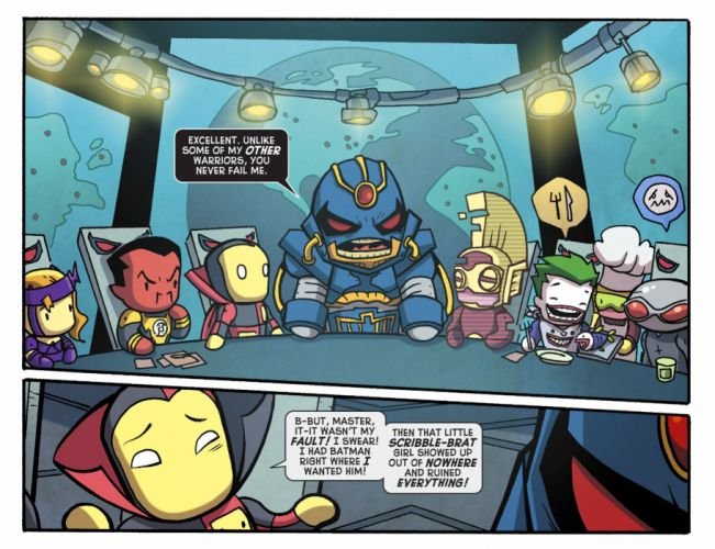 SCRIBBLENAUTS puzzle action family scrolling superhero (63) wallpaper