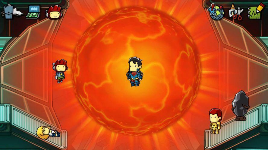 SCRIBBLENAUTS puzzle action family scrolling superhero (67) wallpaper