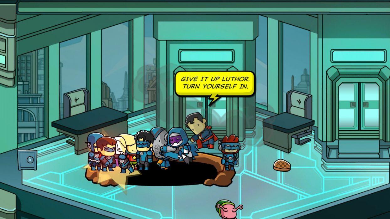 SCRIBBLENAUTS puzzle action family scrolling superhero (72) wallpaper