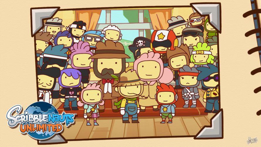 SCRIBBLENAUTS puzzle action family scrolling superhero (80) wallpaper