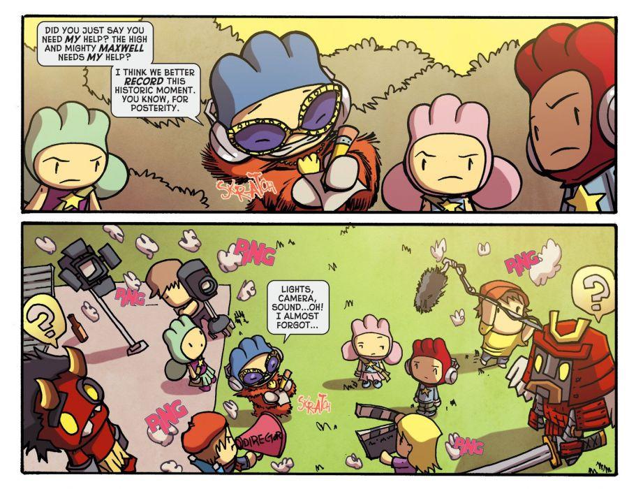 SCRIBBLENAUTS puzzle action family scrolling superhero (90) wallpaper