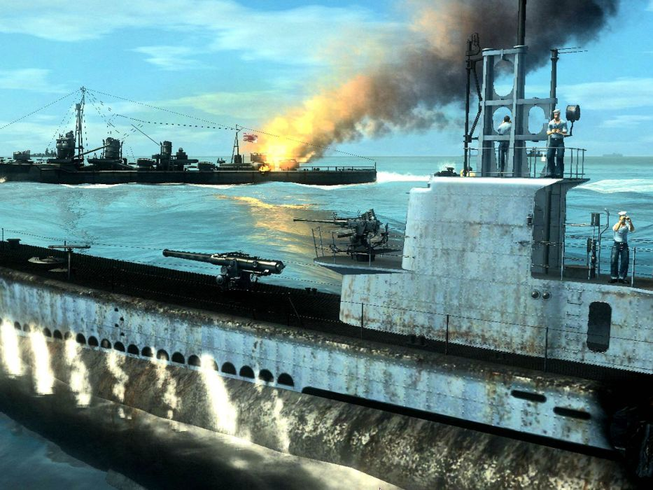 SILENT HUNTER war submarine fighting simulation military (7) wallpaper