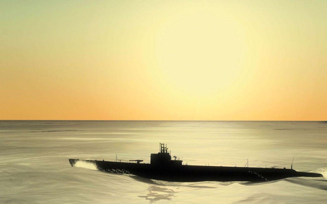 SILENT HUNTER war submarine fighting simulation military (12) wallpaper