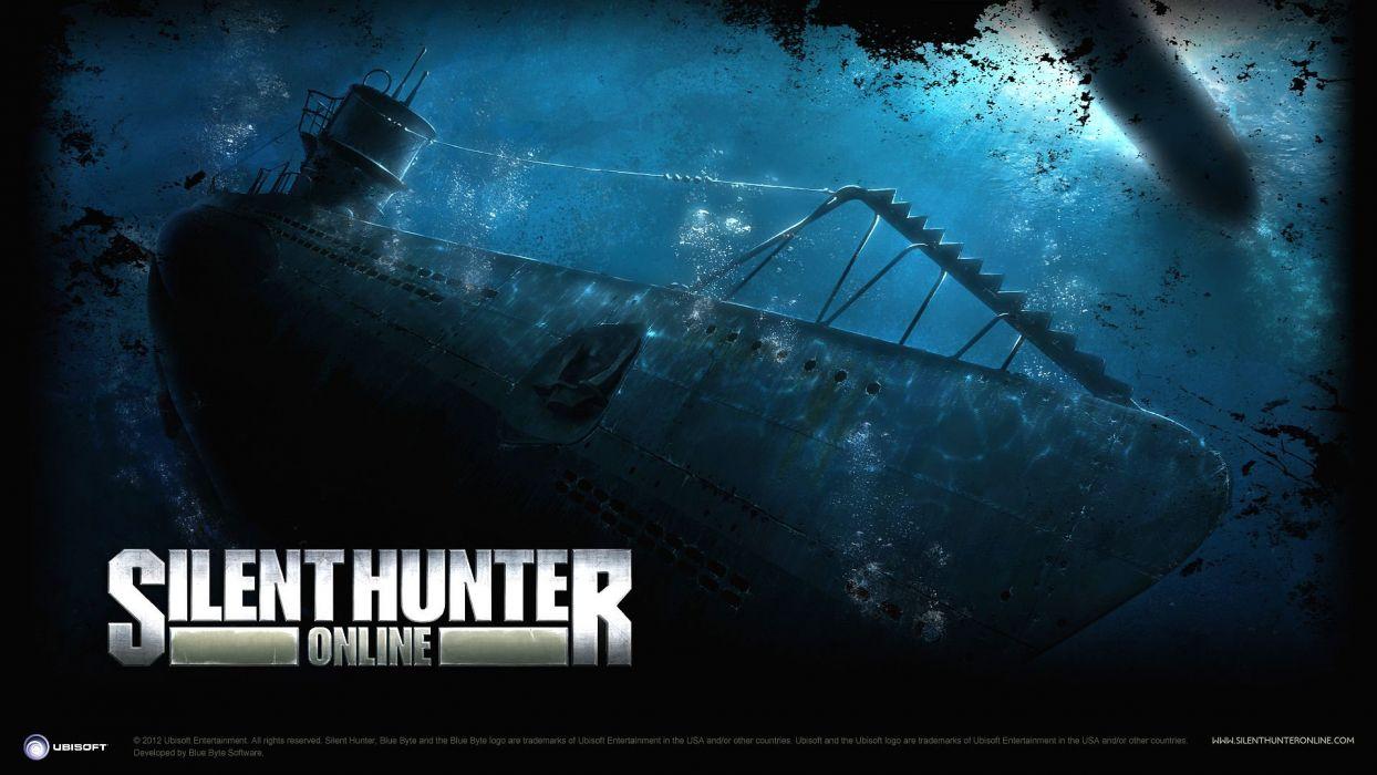 SILENT HUNTER war submarine fighting simulation military (15) wallpaper