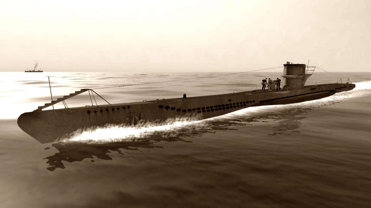 SILENT HUNTER war submarine fighting simulation military (17) wallpaper